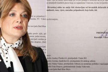 Vidović Krišto pisala Božinoviću – Je li navedeni policijski službenik pripadnik navijačke skupine 'Delije'?