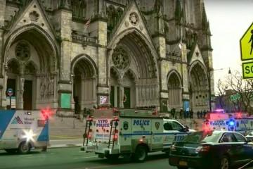 Naoružani napadač ubijen nakon pucnjave ispred katedrale u New Yorku