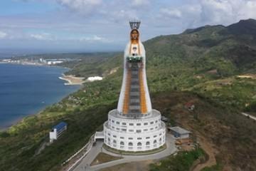 """Najveći Marijin kip na svijetu """" Majka Azije"""" ponos na 500.  obljetnicu kršćanstva na Filipinima"""