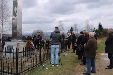 Višnjica Gaj: Obilježena 28. godišnjica stradanja Hrvata i početka otvorene agresije 'Armije R BiH' na Kiseljak
