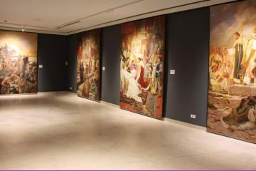Pogledajte izložbu Povijest i umjetnost na zidovima palače u Opatičkoj 10