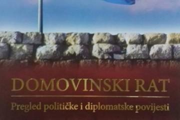 Knjiga 'Domovinski rat' koju su priredili Ante Nazor i Tomislav Pušek pobijedila na natječaju Udruge hrvatskih branitelja Domovinskog rata 91