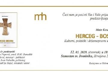 Split: Predstavljanje knjige 'Herceg-Bosna – kulturni, politički i državnopravni identitet'