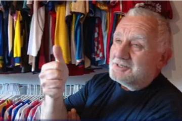 Kolekcionar nogometnih dresova iz Šibenika: Vrijednost se gubi kad se opere