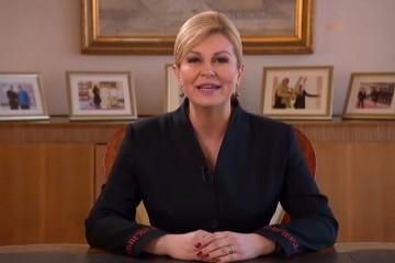 Posljednje obraćanje predsjednice: 'Ponosna sam na učinjeno. O mojem radu jednog dana govorit će povijest'