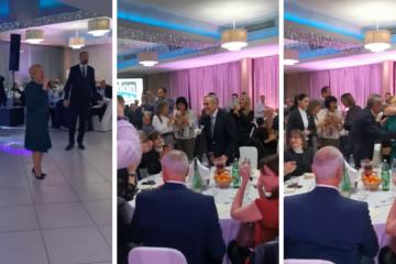 Na Bandićevu proslavu stigla i gošća iznenađenja i zapjevala