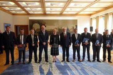 Predsjednica odlikovala osmoricu pripadnika 2. gardijske brigade Gromova