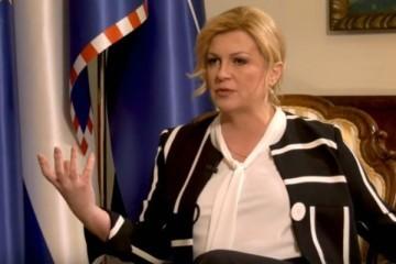 Grabar Kitarović: Iza nekih predsjedničkih kandidata stoje kriminalne skupine