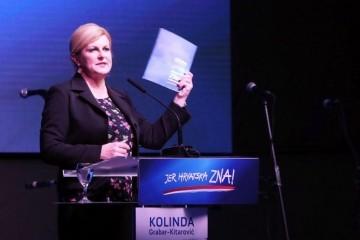 "(VIDEO) Kolinda Grabar-Kitarović izazvala brojne reakcije izjavom o poslovima za 8000 eura"""
