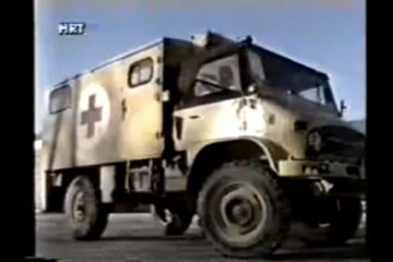15. prosinca 1993. Nova Bila (Srednja Bosna) – 'Konvoj spasa' dokaz je da su Hrvati žrtve bošnjačke agresije