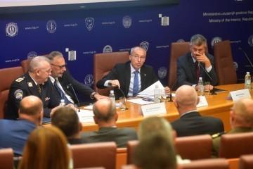 Krstičević: Postigli smo ogroman napredak, no sustav se mora razvijati; Božinović: Na granici ima izazova, ali ona je sigurna