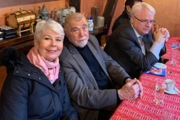 Jadranka Kosor na Badnjak raspravljala o predsjedničkim izborima s Mesićem i Josipovićem