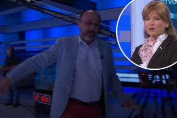 Krešimir Macan demonstrativno napustio emisiju Otvoreno i Karolini Vidović Krišto poručio da je spodoba