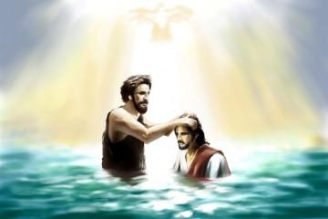 KRŠTENJE ISUSOVO NA RIJECI JORDANU