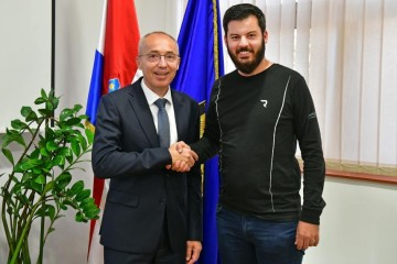 Ministar Krstičević razgovarao s Matom Rimcem o mogućnosti suradnje s MORH-om
