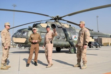 Ministar Krstičević u posjetu hrvatskim vojnicima u Afganistanu