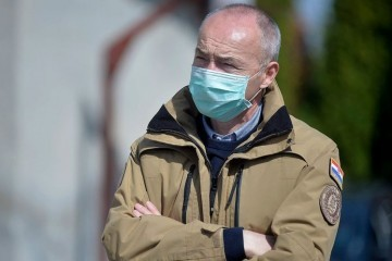 MINISTAR KRSTIČEVIĆ 'Vladin zrakoplov leti u Litvu kako bi se pomoglo četvorici hrvatskih vojnika koji su pozitivni na koronavirus'
