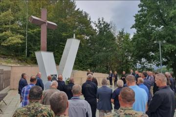 U središnjoj Bosni obilježena 26. obljetnica Udruge dragovoljaca i veterana Domovinskog rata HVO-a HB