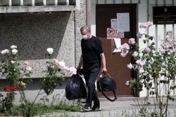 Suspendirani osječki sudac Kvesić izišao je iz Remetinca; dočekao ga odvjetnik