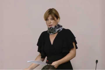Karolina Vidović Krišto: Preporuka saborskog Predsjedništva o nošenju maski nije obvezna