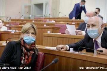 USKORO Vidović Krišto i Vrkljan obraćaju se javnosti nakon što su napustili klub zastupnika DP-a