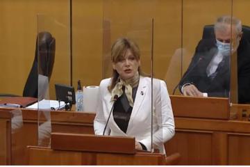 Karolina Vidović Krišto: Danas doživljavamo novu inačicu Stipe Mesića u hrvatskoj politici