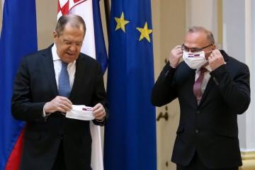 Ruski ministar vanjskih poslova Sergej Lavrov u posjetu je Hrvatskoj
