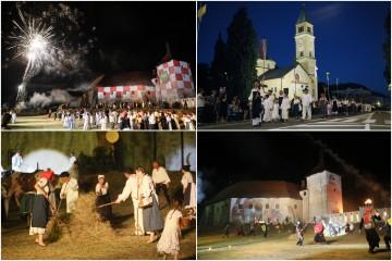 Brojni gledatelji pratili spektakularnu Legendu o Picokima, a Đurđevčani su ponovo nadmudrili Ulama-bega