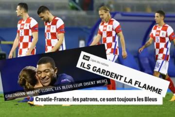 Francuzi se naslađuju: Hrvati, pa naši su plavi uvijek glavni