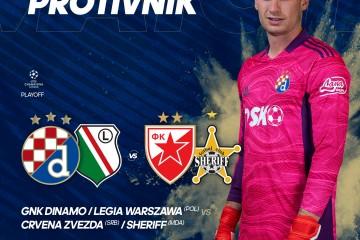 Dinamo izvukao Crvenu zvezdu. Ako prođe Legiju, za LP može igrati protiv prvaka Srbije