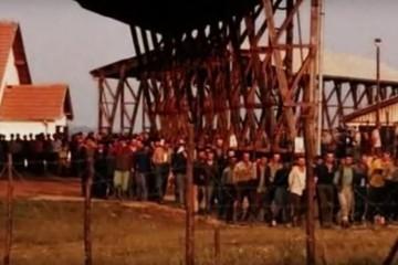 14. prosinca 1992. Zločini srpske vojske – mučenja HOS-ovaca u logoru Manjača