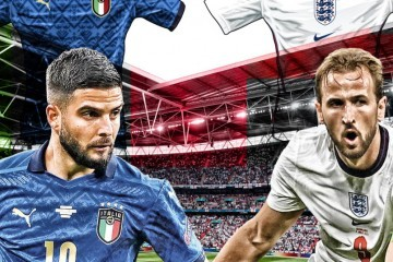 VELIKO FINALE EURA : Italija ili Engleska?
