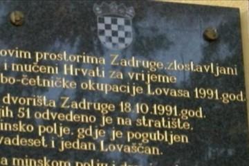 ZLOČIN JNA I ČETNIKA: Obilježena 29. obljetnica stradanja Lovasa