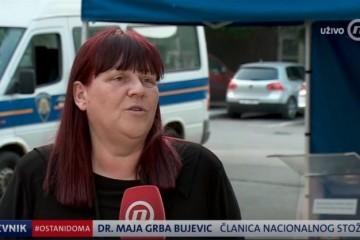 Dr. Grba Bujević: 'Životi će nam se promijeniti, dugo će ostati ta potreba za fizičkom udaljenosti'