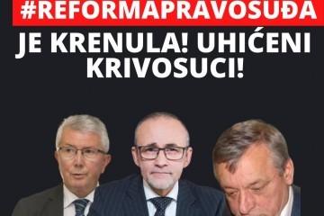Zdravko Mamić se javio na Facebooku: 'Reforma pravosuđa je krenula! Uhićeni su krivosuci!'