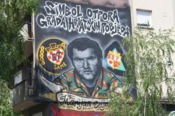 Dovršen mural posvećen legendarnom brigadiru HV-a