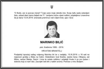 Posljednji pozdrav ratniku - Marinko Bilić