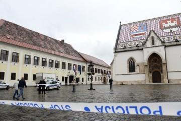Na Markovu trgu upucan policajac, počinitelj počinio samoubojstvo...