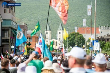 Velika obljetnica ukazanja u Međugorju: Okupljaju se hodočasnici iz cijelog svijeta