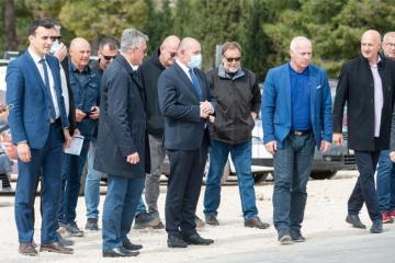Ministar Medved u Šibeniku obišao gradilište Veteranskog centra