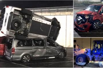 Napad na tvornicu Mercedesa: Bivši radnik iz osvete bagerom demolirao 50 novih vozila