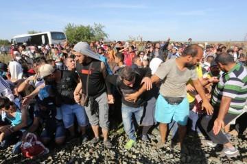 NOVE OPTUŽBE NA RAČUN HRVATSKE POLICIJE! Policajac prozvan da je pucao iznad glava migranata
