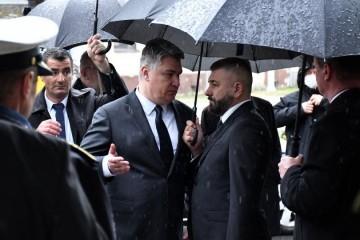 Predsjednik Milanović napustio program svečanog obilježavanja operacije Maslenica