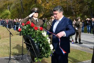 Predsjednik Milanović na obilježavanju 30. godišnjice zločina u Baćinu