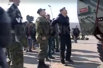 HDZ objavio snimku Milanovića kako pada s transportera