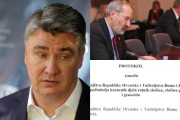 Sramotni Protokol temeljem kojeg BiH optužuje hrvatske generale potpisan za vrijeme Milanovićeve Vlade
