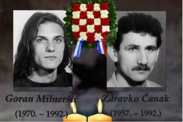 7. ožujka 1992. Goran Milneršić i Zdravko Čanak – dvojica Riječana, HOS-ovaca i članova Armade dali život za Hrvatsku