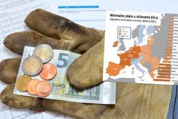 Unatoč koronakrizi nekoliko europskih zemalja osjetno povećalo minimalne plaće, ali Hrvatska nije među njima
