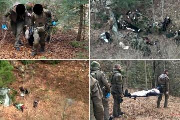 Migranta ubila mina kod Saborskog. Policija potom satima izvlačila 10 osoba iz minskog polja