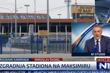 Miroslav Škoro: 'Obećavam da ću napraviti stadion u suradnji Dinamom i HNS-om'